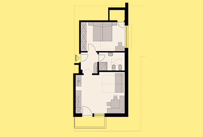 Room map Apartment 2