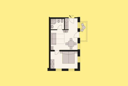 Room map Apartment 3